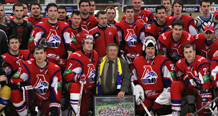 A year after being literally wiped out, a Russian hockey team flourishes
