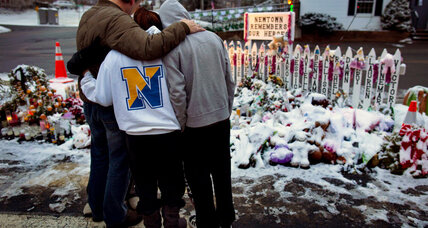 Newtown inundated with support, consolation on Christmas