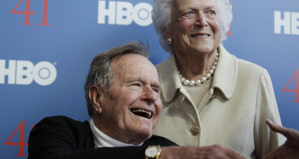 George H.W. Bush hospitalized in intensive care unit