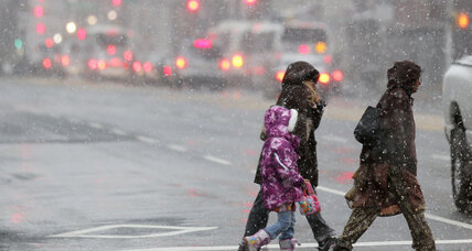 Tornadoes and deaths in its wake, powerful winter storm aims at Northeast