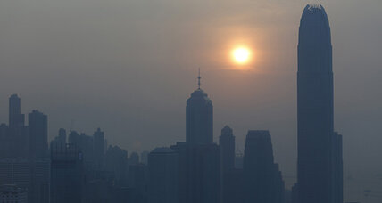 Hong Kong bans smog-heavy vehicles