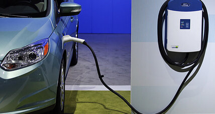 Electric car charging goes wireless