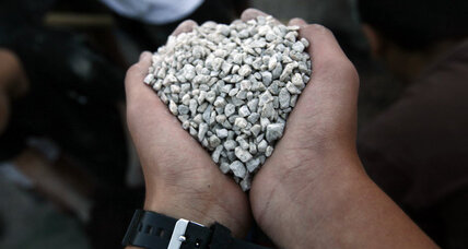 Israel allows gravel into Gaza for first time since Hamas takeover
