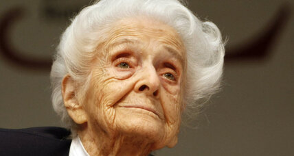 Italian Nobel winner, Montalcini, dies at age 103