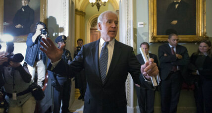 In 'fiscal cliff' deal, Joe Biden upstages President Obama