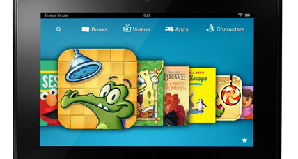 Kindle for kids: Amazon pitches tablet books, videos aimed at youngsters