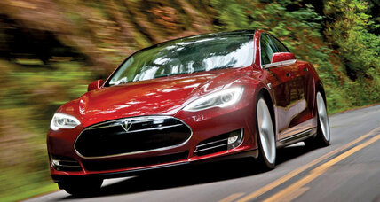 Tesla Model S electric zaps the competition