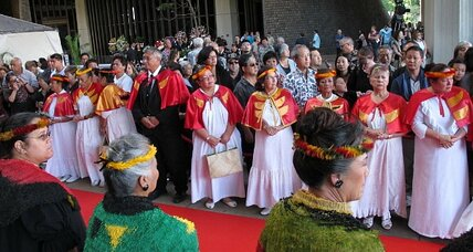 Sen. Inouye praised as humble leader at Hawaii Capitol