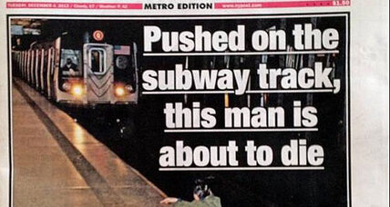 New York Post subway photo: Should photographer have helped victim? (+video)