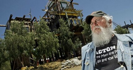 'Phonehenge West' creator jailed: When folk art and building codes collide