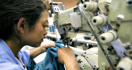Alta Gracia factory produces fair-trade clothing