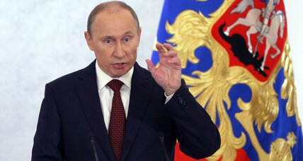 Putin's drive for Russian identity