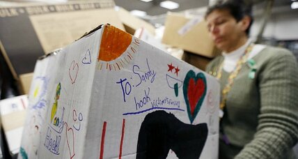 Sandy Hook shooting: Town in mourning inundated with gifts, money