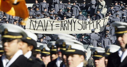 Army-Navy: Honoring tradition, football and otherwise