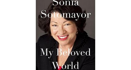 An unusually candid picture of Sonia Sotomayor is reported to emerge from her memoir