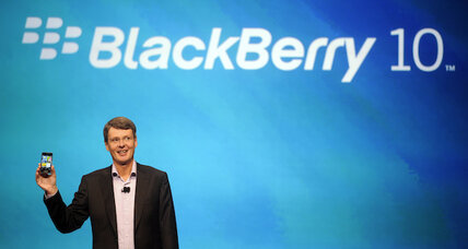 BlackBerry 10 to be tested by US government agency