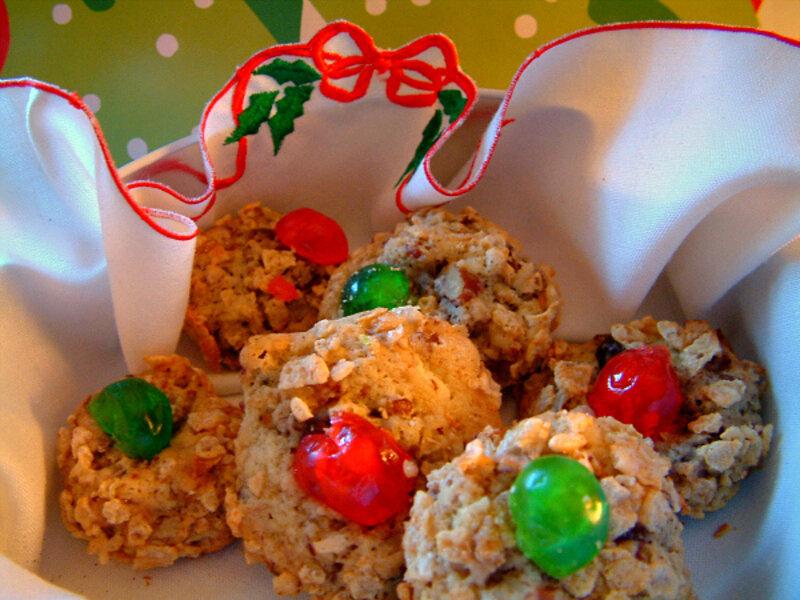 Cherry Winks Christmas Cookies Csmonitor Com