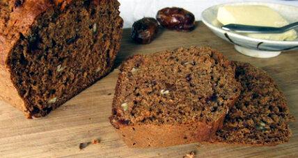 Orange kissed date pecan bread