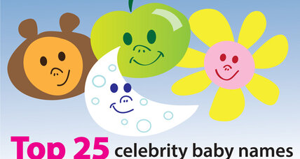 The top 25 celebrity baby names of all time