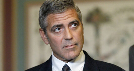 George Clooney: Village burnings in Sudan are 'a war crime'