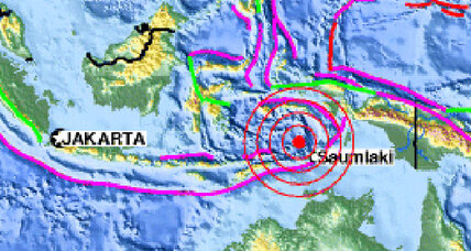7.1-magnitude quake reported off Indonesia, but no tsunami