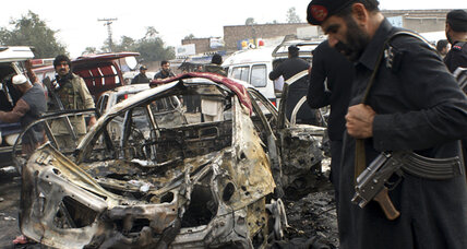 Car bombing in Pakistan kills 17 people, according to officials