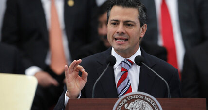 Enrique Peña Nieto's 'economy first' strategy for Mexico would also help US