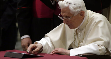Pope Benedict XVI, now with one million followers, launches first Tweet (+video)