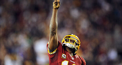 Robert Griffin III plays like Tim Tebow, only better