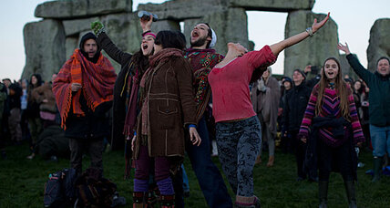 Winter Solstice prompts gatherings of druids, spiritualists, and doomsday party goers