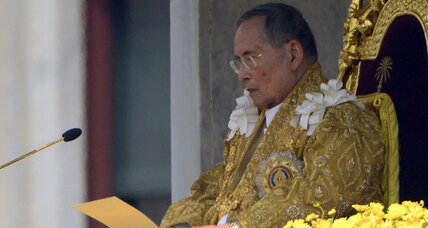 Thai king's birthday marks time-out in Thailand's game of thrones
