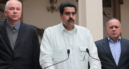 Could Maduro, Chávez's choice as successor, mend Venezuela's rifts?