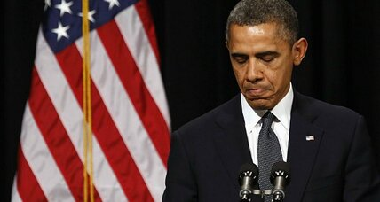Sandy Hook shooting: Obama vows to use power of presidency to thwart massacres (+video)
