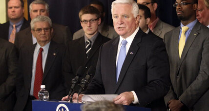 Gov. Tom Corbett to sue NCAA over Penn State sanctions