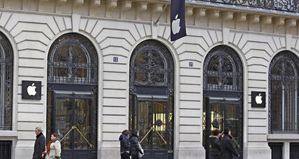 $1 million Apple heist: Thieves hit Paris store on New Year's Eve