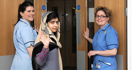 Malala Yousafzai, Pakistani teen shot by Taliban, is released from UK hospital (+video)