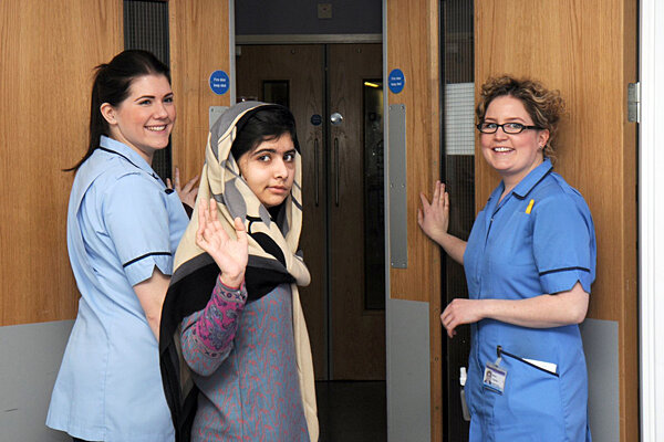 Malala Yousafzai, Pakistani teen shot by Taliban, is ...