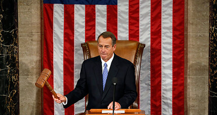 House speaker vote: John Boehner wins reelection after tough few weeks (+video)