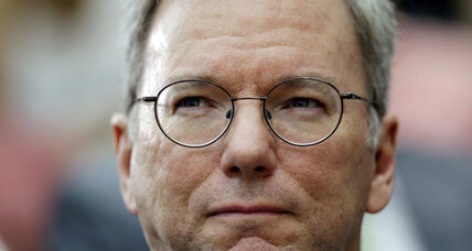 Why is Google chairman Schmidt heading to North Korea?