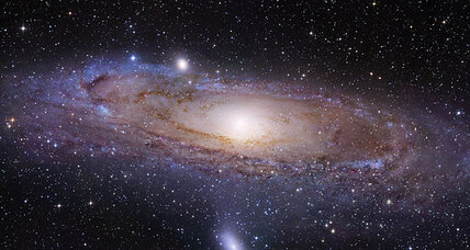 What's going on around Andromeda? Curious structure puzzles scientists.