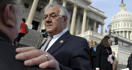 Barney Frank asks for interim Senate appointment