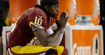 Robert Griffin III: RG3 knee injury a warning sign for his future? (+video)