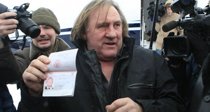 Depardieu, now Russian citizen, welcomed warmly