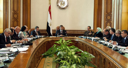 Egypt's Morsi adds more Brothers to his cabinet