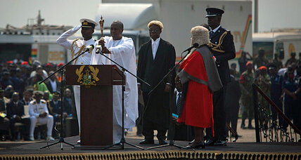 Ghana inauguration goes on, while opposition plots court comeback