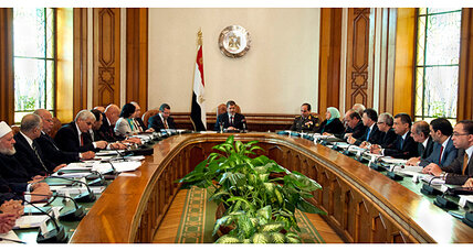 In Egypt a new cabinet, but same old IMF problem