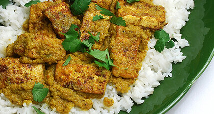 Meatless Monday: Spicy Indian tofu curry