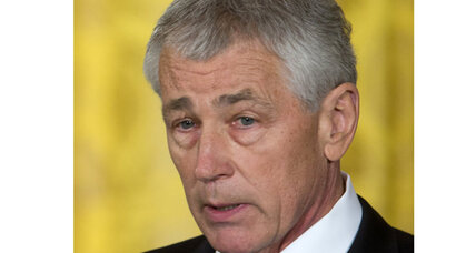 Hagel's often blunt words are fodder for critics