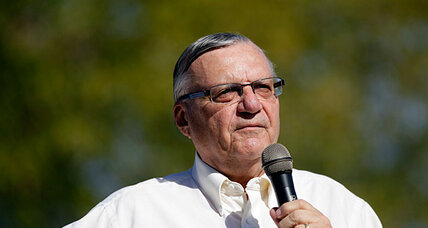 Sheriff Joe Arpaio's bid to make schools safer: armed posse patrols nearby