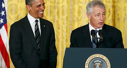 Chuck Hagel, Vietnam vet: Would time as a 'grunt' be a plus at Pentagon?
